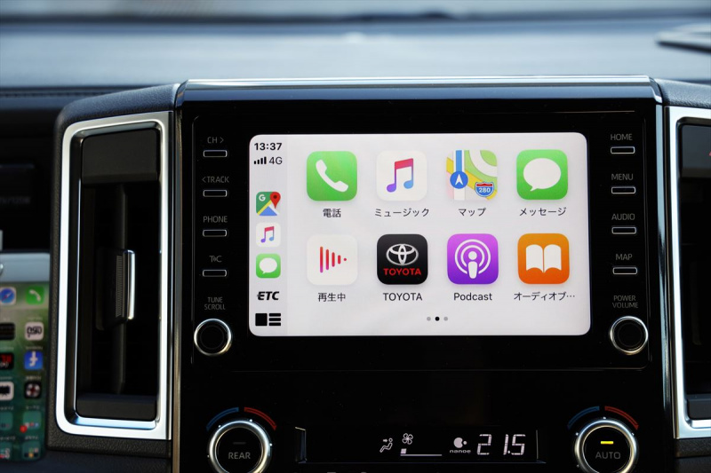 Apple Car Playにも対応するディスプレイオーディオ