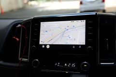 Andoroid AutoのGoogleマップ