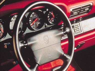 993型911の内装
