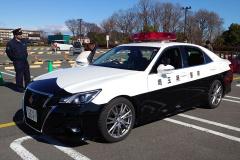 埼玉県警のパトカー