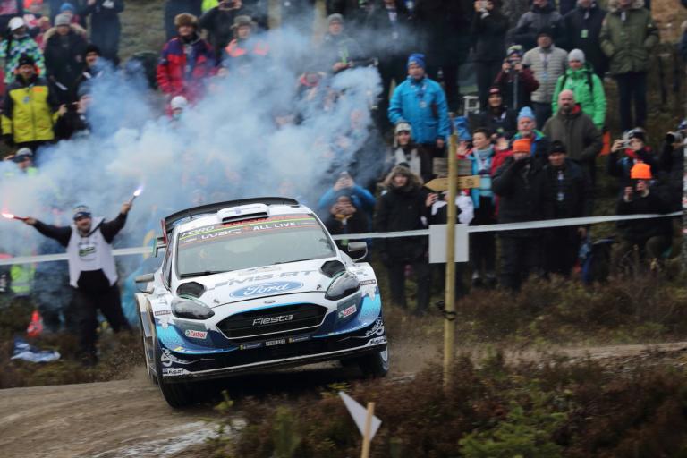 WRC第2戦スウェーデンラリー競技2日目