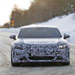 アウディ「E-Tron GT」を初スクープ! 市販型EV初のスポーツクーペ誕生へ - Audi etron GT 2