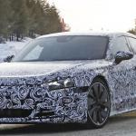 アウディ「E-Tron GT」を初スクープ! 市販型EV初のスポーツクーペ誕生へ - Audi etron GT 5