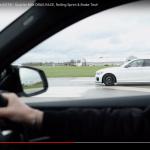 新旧BMW・1シリーズのゼロヨン勝負。※ただしウエット路面、新型4輪vs旧型2輪【動画】 - BMW_DRAG01