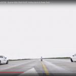 新旧BMW・1シリーズのゼロヨン勝負。※ただしウエット路面、新型4輪vs旧型2輪【動画】 - BMW_DRAG03