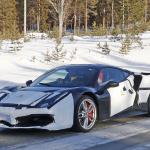 「正体はV6ハイブリッドの新型モデル!? フェラーリ 488GTBベースの開発車輌をキャッチ」の8枚目の画像ギャラリーへのリンク
