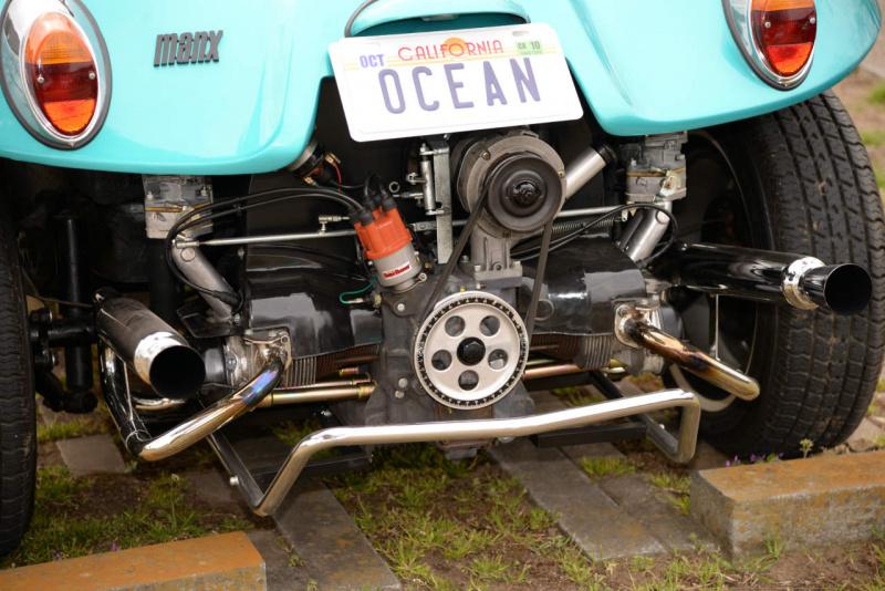 VWデューンバギーのエンジン。