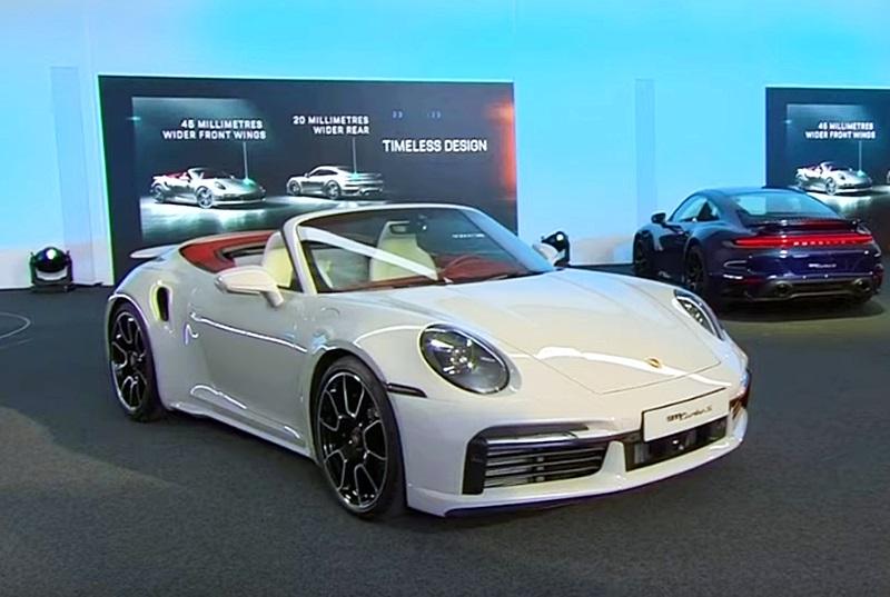 「ポルシェが新型「911 ターボ S」をインターネットでワールドプレミア!」の4枚目の画像