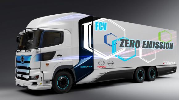 トヨタ 日野 燃料電池 大型トラック