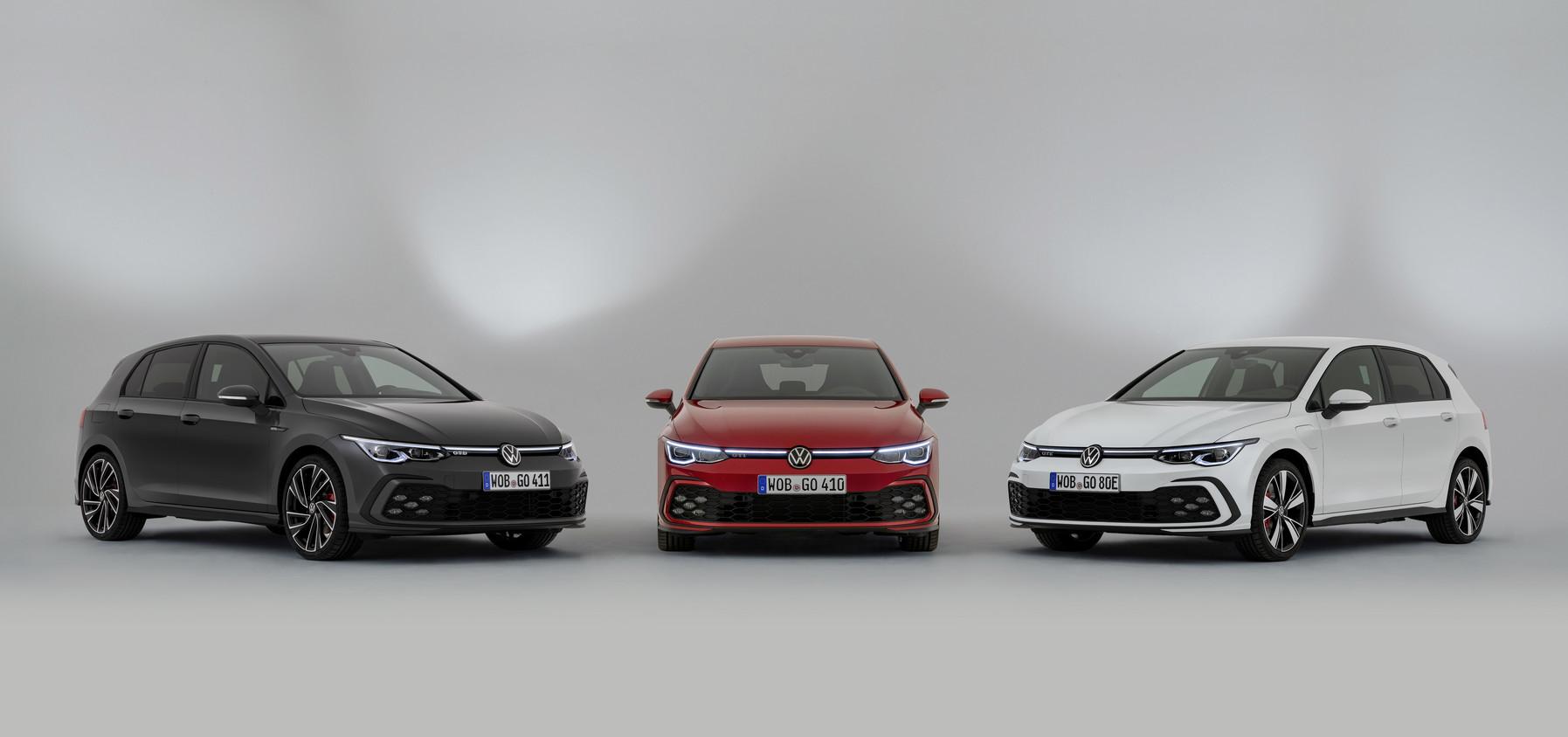 「フォルクスワーゲンが新型Golf GTI、GTE、GTDの3台を発表【新車】」の2枚目の画像