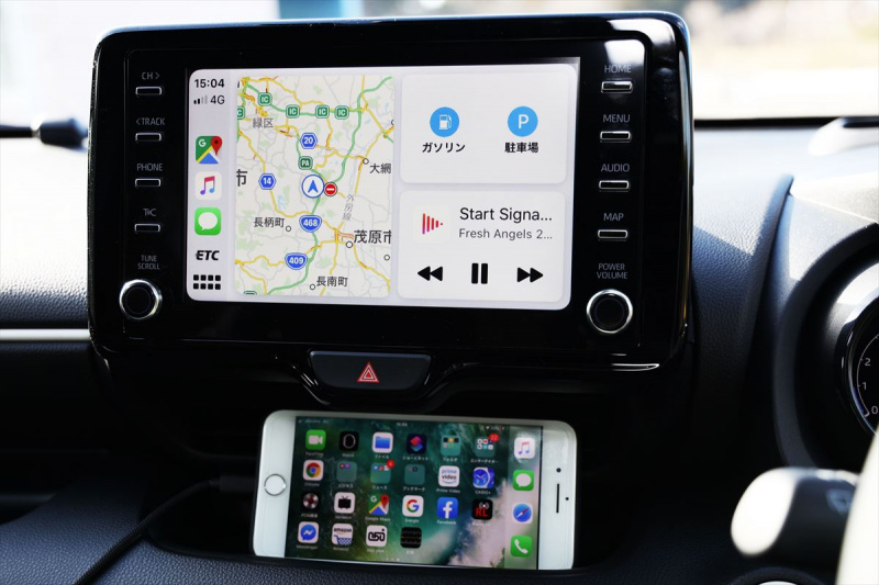 Apple Car Play表示画面