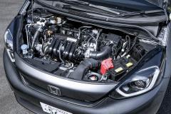 フィットNESSのエンジン