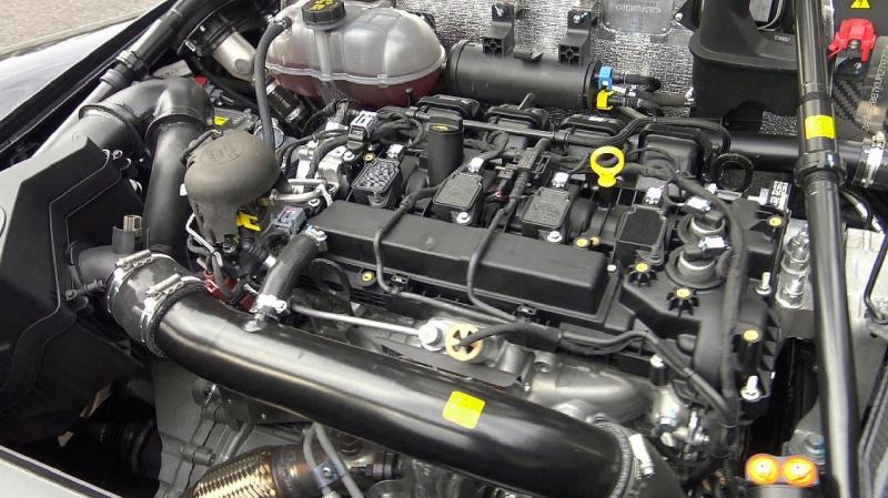 ダラーラ・ストラダーレのエンジン
