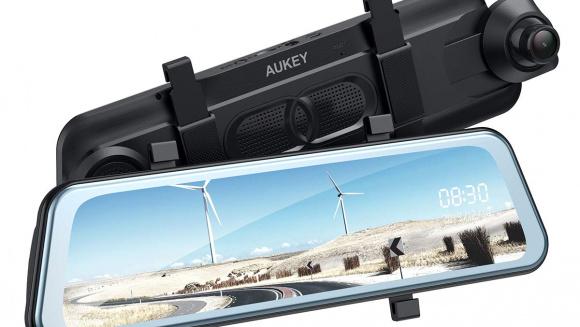 Aukey ミラー型ドライブレコーダー