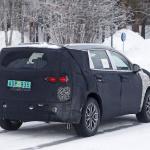 ヒュンダイの主力SUV「サンタフェ」改良型は、ボルボ風T字型LEDデイライトを装備? - Hyundai Santa Fe facelift 10