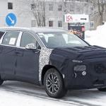 ヒュンダイの主力SUV「サンタフェ」改良型は、ボルボ風T字型LEDデイライトを装備? - Hyundai Santa Fe facelift 3