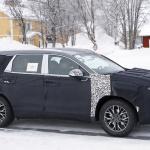 ヒュンダイの主力SUV「サンタフェ」改良型は、ボルボ風T字型LEDデイライトを装備? - Hyundai Santa Fe facelift 5