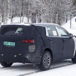ヒュンダイの主力SUV「サンタフェ」改良型は、ボルボ風T字型LEDデイライトを装備? - Hyundai Santa Fe facelift 9