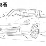 「フィガロ」「チョイモビ」「GT-R」も塗り絵を公開!日産のグローバルデザインチームが「#drawdrawdraw」開始 - NISSAN_Design_sketch_20200418_2