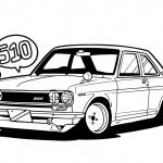 「フィガロ」「チョイモビ」「GT-R」も塗り絵を公開!日産のグローバルデザインチームが「#drawdrawdraw」開始 - NISSAN_Design_sketch_20200418_6