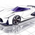 「フィガロ」「チョイモビ」「GT-R」も塗り絵を公開!日産のグローバルデザインチームが「#drawdrawdraw」開始 - NISSAN_Design_sketch_20200418_8