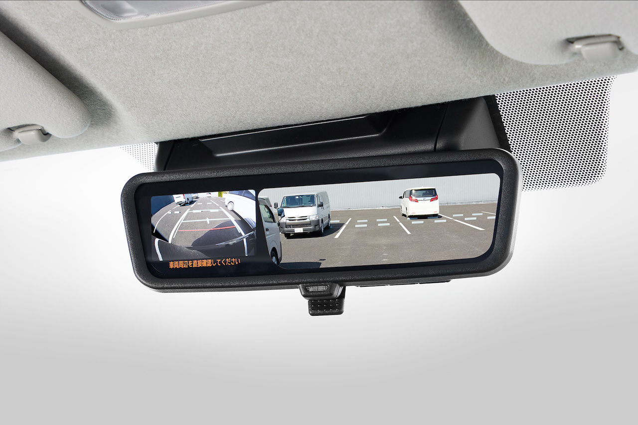 「トヨタ・ハイエースが一部改良。デジタルインナーミラー、パノラミックビューモニターなどを採用【新車】」の7枚目の画像