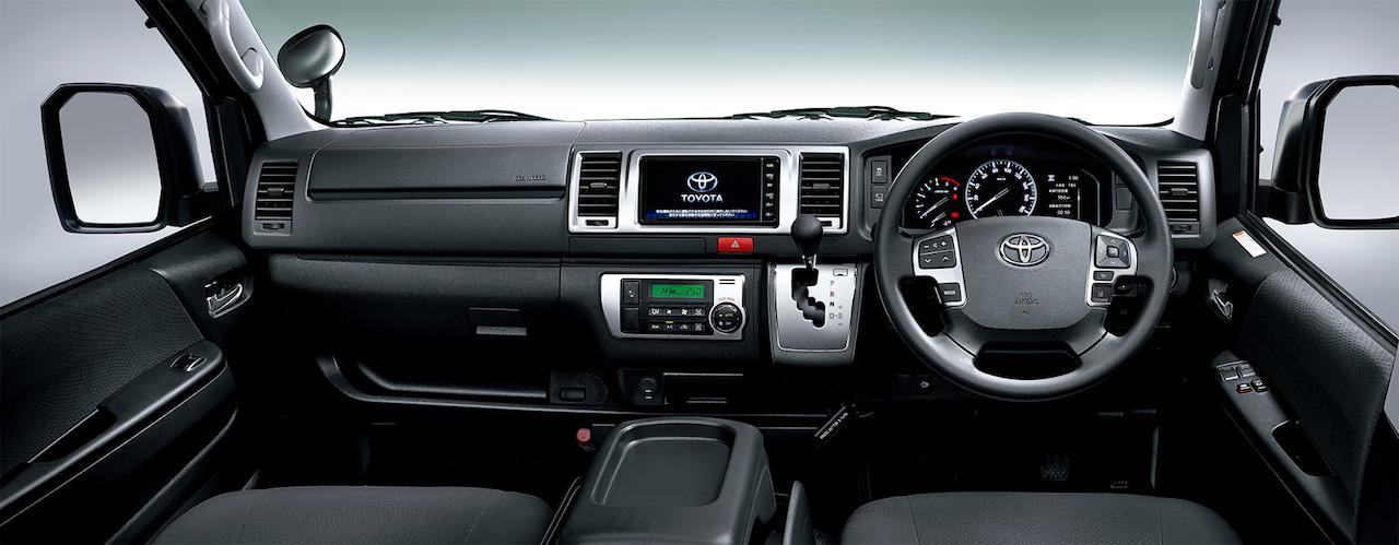 「トヨタ・ハイエースが一部改良。デジタルインナーミラー、パノラミックビューモニターなどを採用【新車】」の8枚目の画像