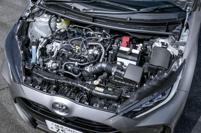トヨタ・ヤリス Zのエンジン
