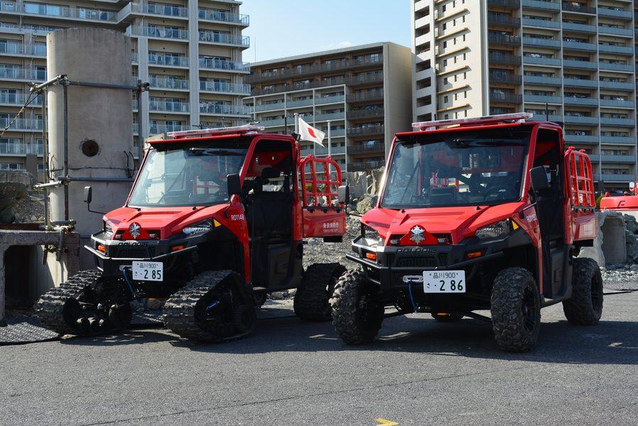 「どんな現場にも真っ先に現着! 東京消防庁の全地形対応車両「POLARISレンジャー」が配備・運用を開始」の1枚目の画像