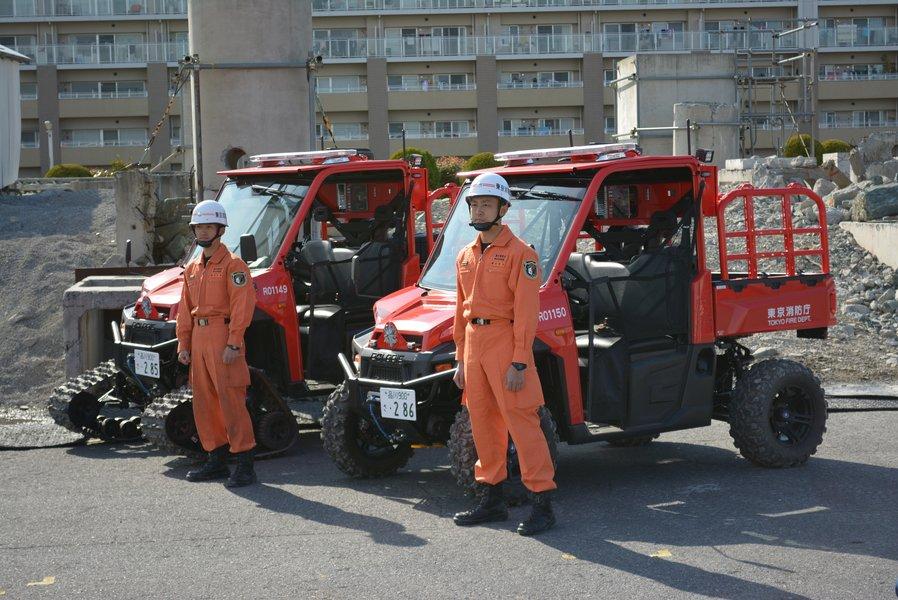 「どんな現場にも真っ先に現着! 東京消防庁の全地形対応車両「POLARISレンジャー」が配備・運用を開始」の2枚目の画像