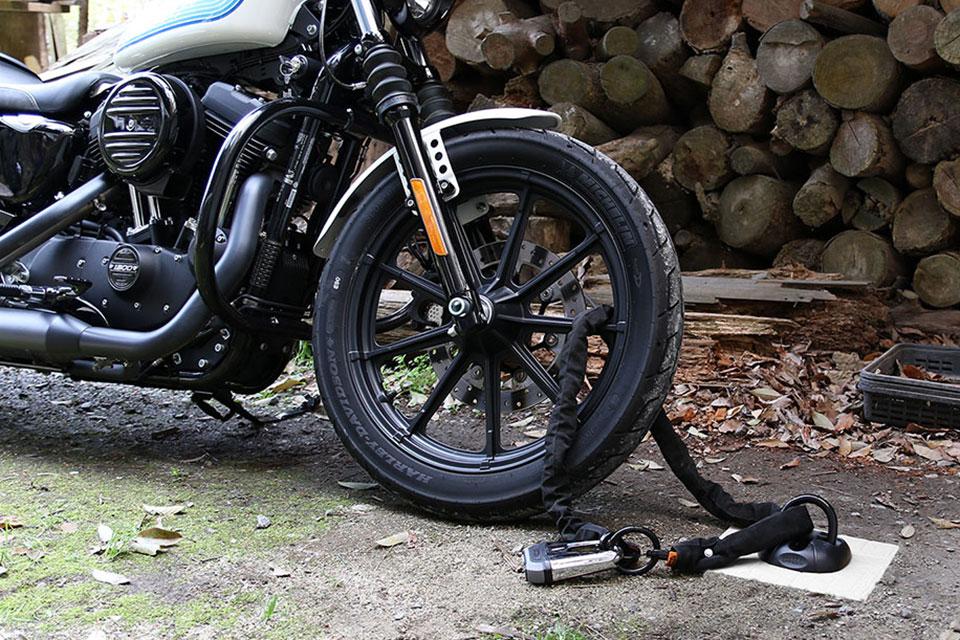 「セキュリティグッズを組み合わせて盗難からバイクを守ろう! 外出自粛中のバイク盗難対策」の10枚目の画像