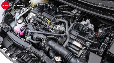 ヤリス・ハイブリッドのエンジン