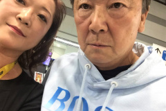 先生・清水和夫さんと生徒・clicccar永光やすの