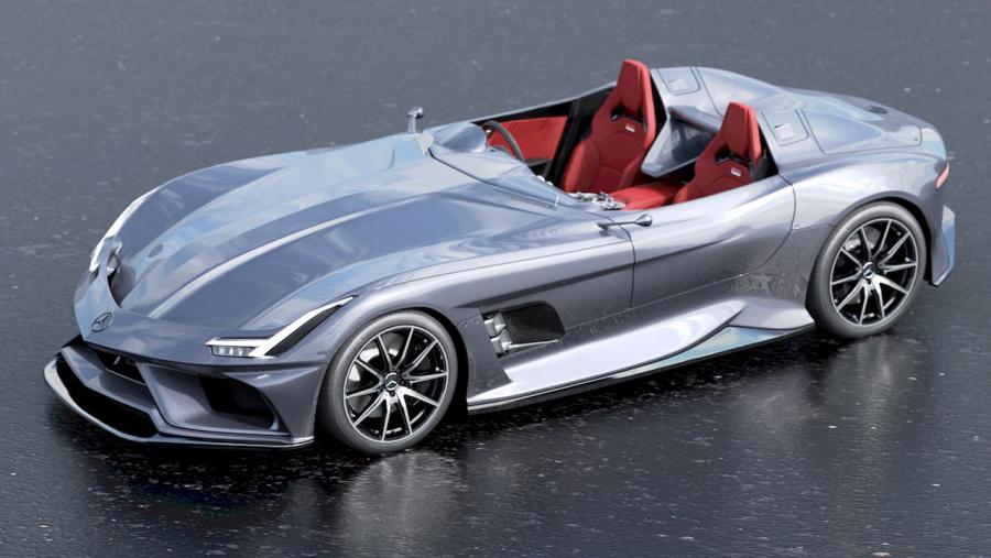 メルセデス・ベンツ SLRが現代に蘇ったら。名車スターリング・モスを ...