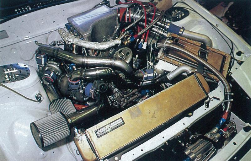 搭載されたエンジン