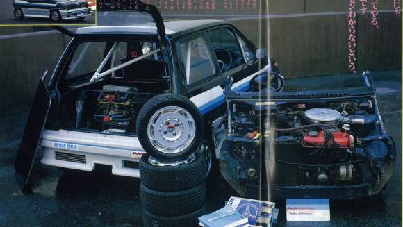 OPTツインエンジン・シティ4WD化計画