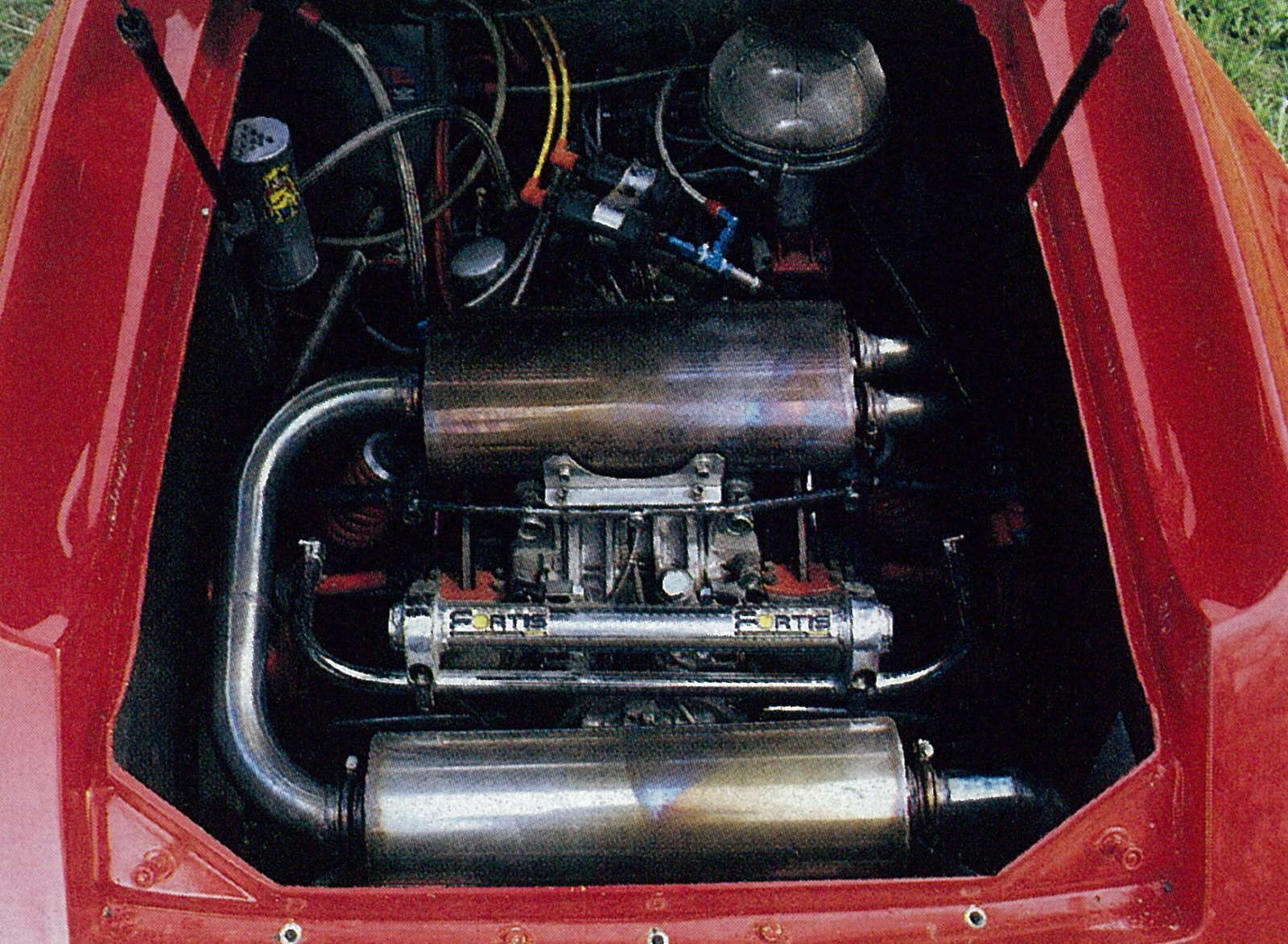 「RE雨宮ロータスヨーロッパ改13Bペリは、今見ても異次元のスーパーマシン【OPTION 1987年7月号より】」の1枚目の画像