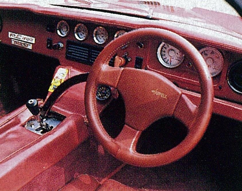 「RE雨宮ロータスヨーロッパ改13Bペリは、今見ても異次元のスーパーマシン【OPTION 1987年7月号より】」の2枚目の画像