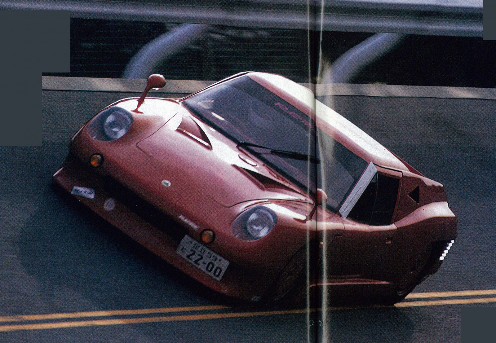 「RE雨宮ロータスヨーロッパ改13Bペリは、今見ても異次元のスーパーマシン【OPTION 1987年7月号より】」の3枚目の画像