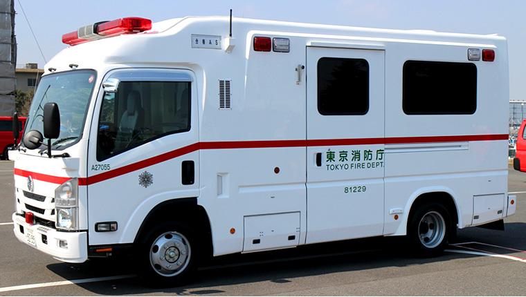 高規格救急車/札幌ボデー工業製