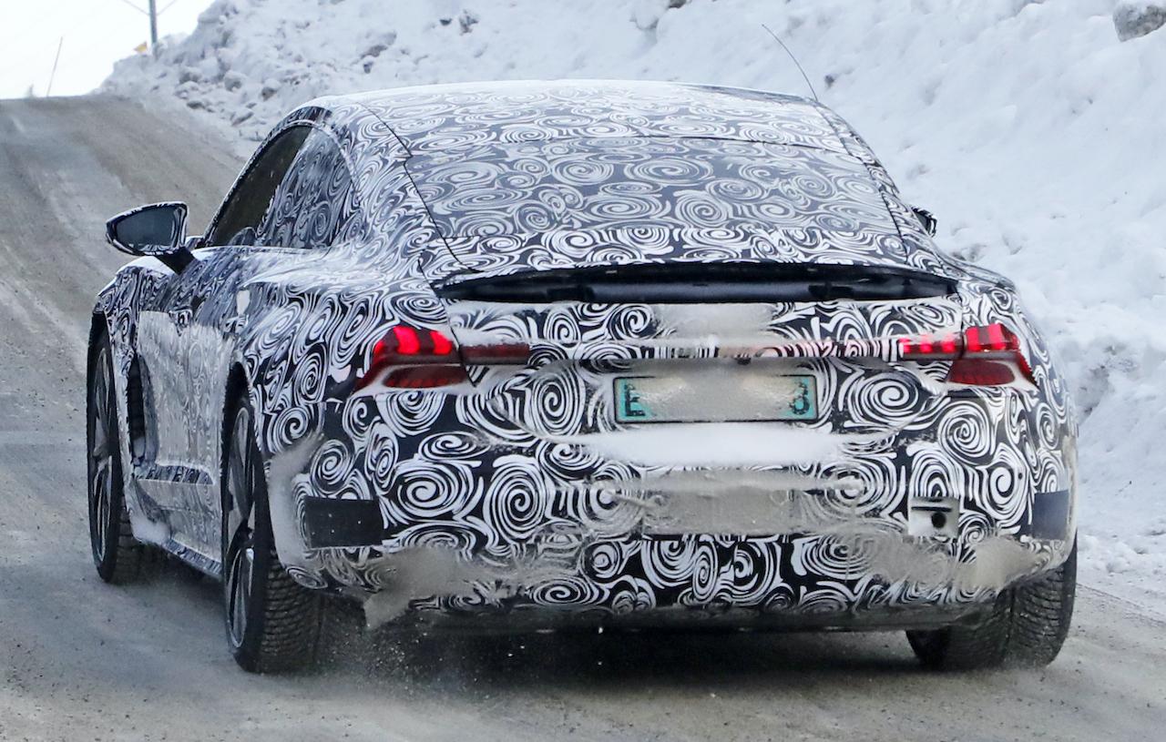 「「アウディ版タイカン」のEV4ドアクーペ・e-tron GTは年内にオンライデビュー?」の2枚目の画像