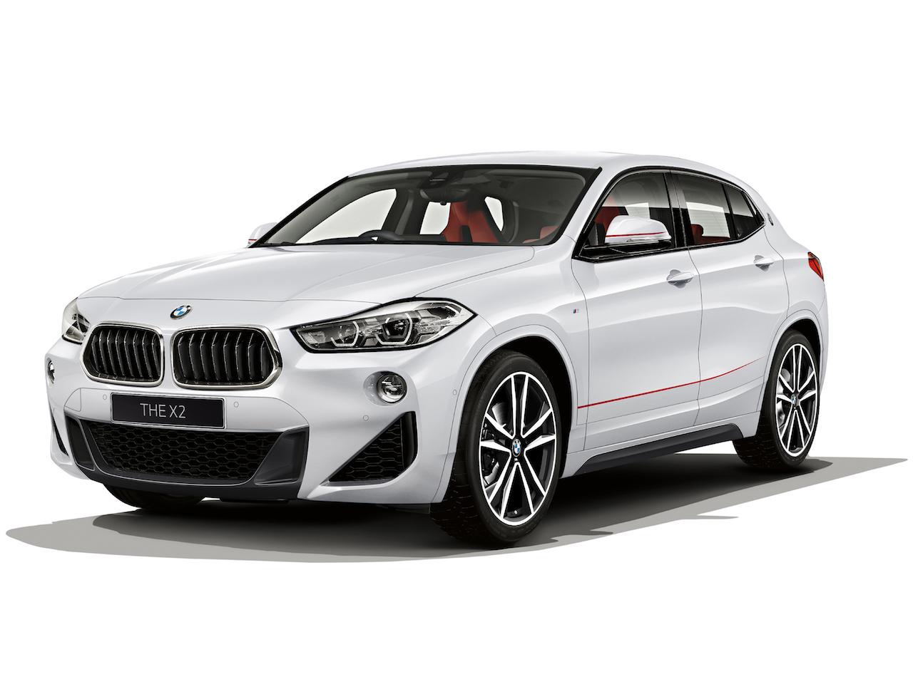 「BMW X2に2.0Lディーゼルエンジンを積んだ「xDrive 18d M Sport Edition Sunrise」を設定【新車】」の4枚目の画像