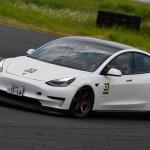 EV車輌がガチバトル! ALL JAPAN EV-GP SERIESが開幕。第1戦を制したのは…? - JEVRArd1Q33Model3