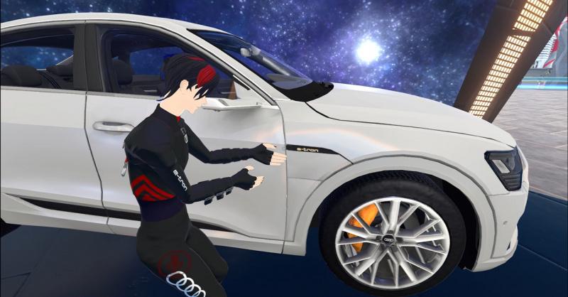 VRChat バーチャルマーケット Audi e-tron Sportback
