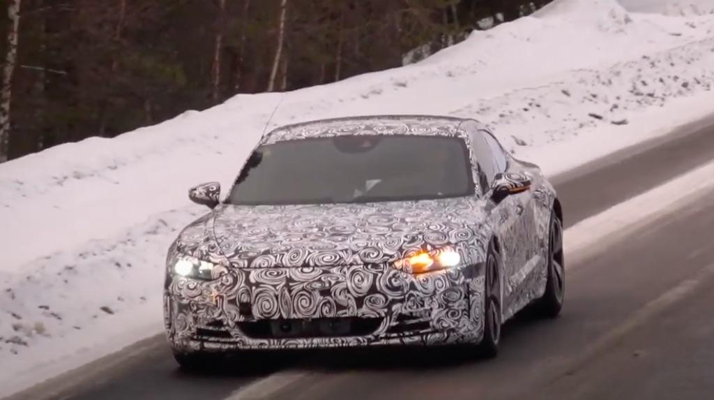 「「アウディ版タイカン」のEV4ドアクーペ・e-tron GTは年内にオンライデビュー?」の5枚目の画像