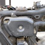 旧車再生の基本・フレームを清掃する(前編)【49年前のCB125は直るのか?素人再生記 】 - cb125k5_flame02