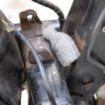 旧車再生の基本・フレームを清掃する(後編)【49年前のCB125は直るのか?素人再生記 】 - cb125k_flame03