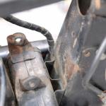 旧車再生の基本・フレームを清掃する(後編)【49年前のCB125は直るのか?素人再生記 】 - cb125k_flame04