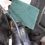 旧車再生の基本・フレームを清掃する(後編)【49年前のCB125は直るのか?素人再生記 】 - cb125k_flame05