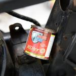 旧車再生の基本・フレームを清掃する(後編)【49年前のCB125は直るのか?素人再生記 】 - cb125k_flame07
